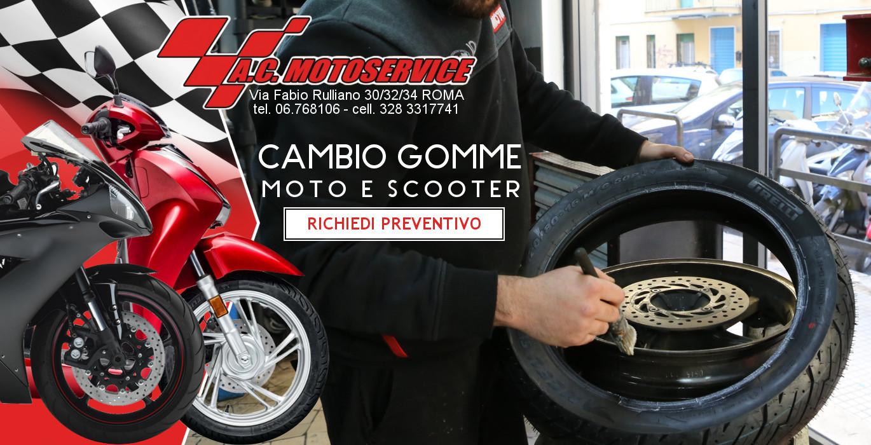 Gommista per moto e scooter a Roma